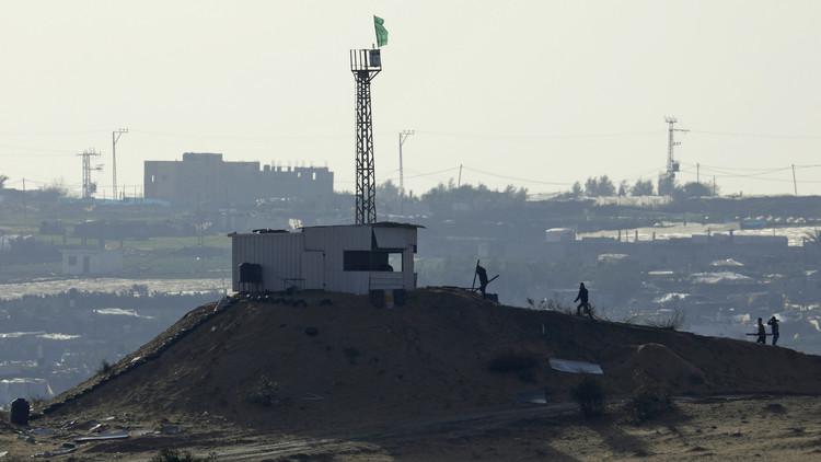 الجيش الإسرائيلي يقصف مواقع لحماس في قطاع غزة