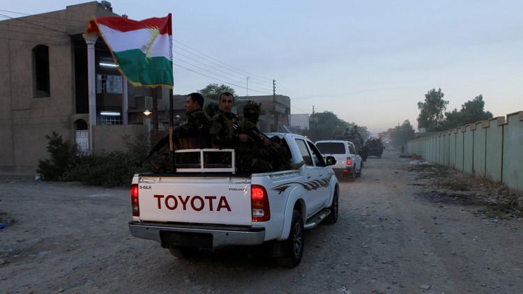 قوات كردية تقتحم شركة نفطية في كركوك العراقية