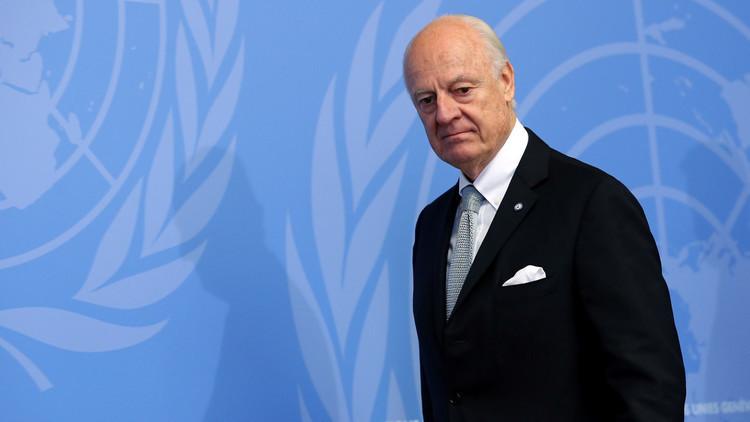 دي ميستورا يطرح ورقة من 12 بندا حول نظام الحكم في سوريا
