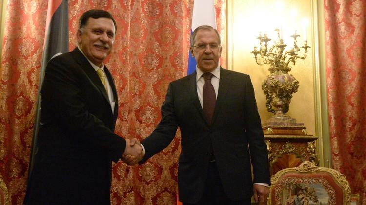 لافروف للسراج: ندعم قيام مؤسسات دولة وجيش قوي في ليبيا