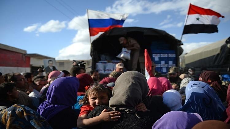 وقفة على حجم المساعدات الروسية لسوريا