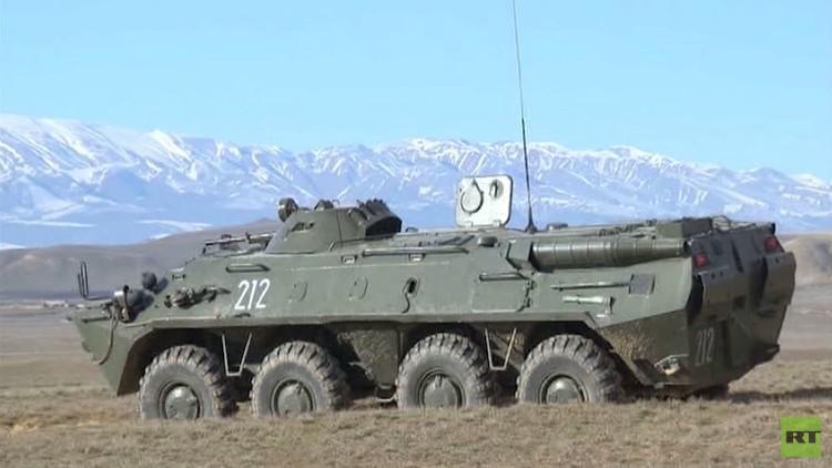 تدريبات عسكرية في شمال القوقاز والقرم