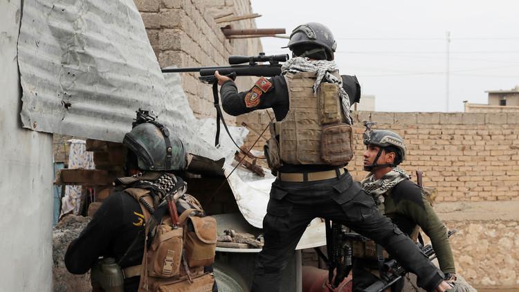 تحرير حي وادي حجر غربي مدينة الموصل