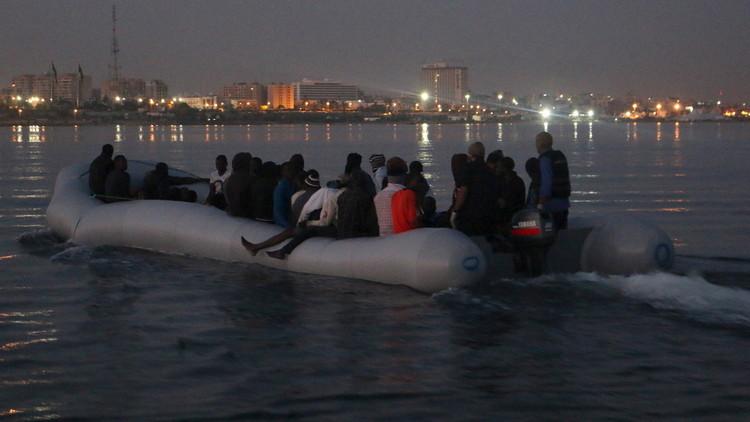 إنقاذ 115 مهاجرا قبالة السواحل الليبية