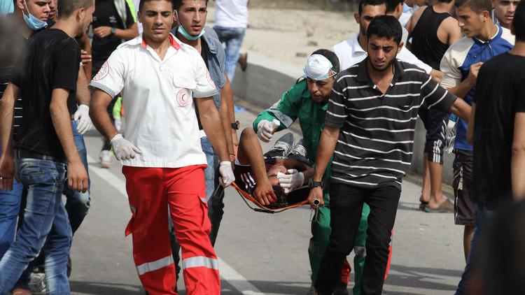 إصابة فلسطينيين برصاص الجيش الإسرائيلي شمالي غزة