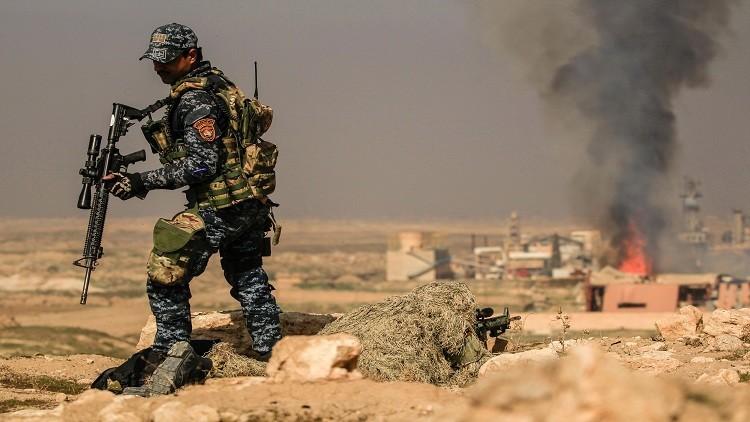 معسكر تدريب لداعش تحت الأرض قرب الموصل