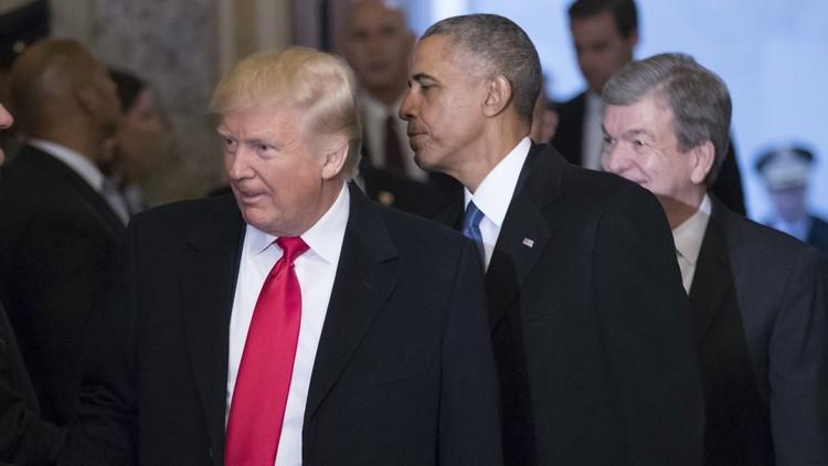 ترامب: أوباما تجسس عليّ