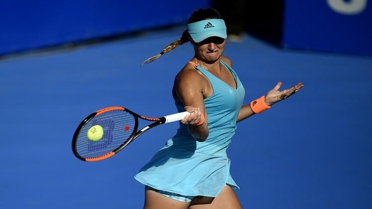 كريستينا ملادينوفيتش تتأهل لنهائي بطولة أكابولكو للتنس