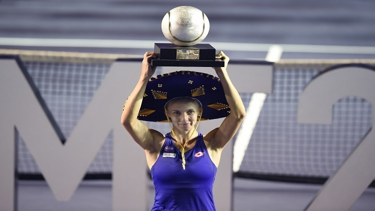 الأوكرانية تسرينكو تحرز لقب بطولة أكابولكو للتنس