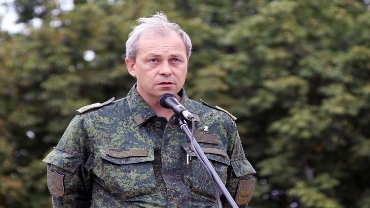 باسورين: دونيتسك ولوغانسك بادرتا بوقف إطلاق النار في دونباس