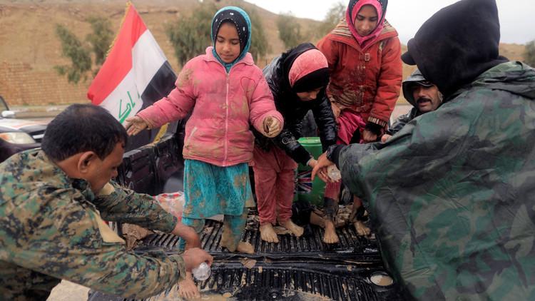 الهجرة الدولية: نزوح أكثر من 45 ألف مدني من غرب الموصل