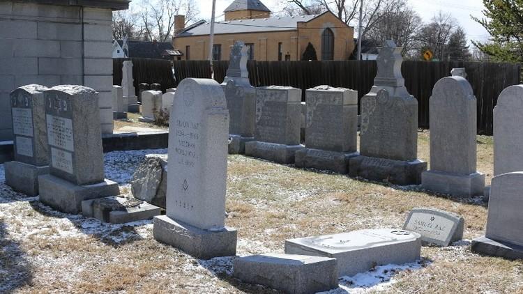تخريب شواهد القبور اليهودية في الولايات المتحدة