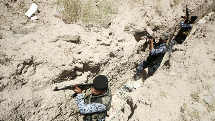 حرس الحدود العراقي يشتبك مع
