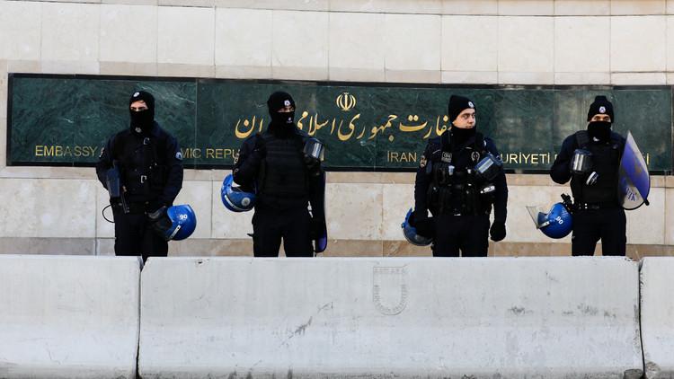 اعتقال أمريكي في إيران