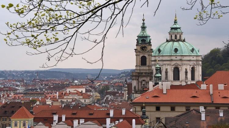تجمع جماهيري في براغ لدعم سكان دونباس