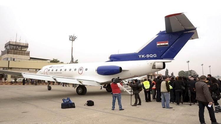 استئناف الرحلات الجوية بين حلب والقاهرة قريبا
