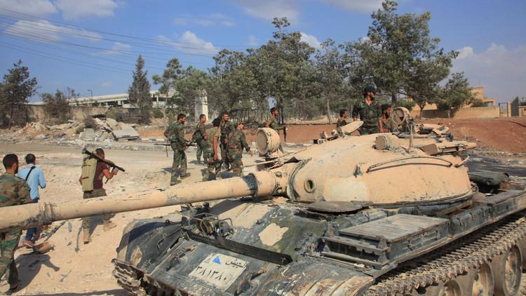 الجيش السوري يوسع مناطق سيطرته في ريف حلب الشمالي الشرقي