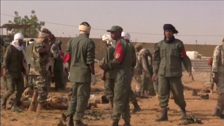 مقتل 11 جنديا ماليا قرب الحدود مع بوركينا فاسو