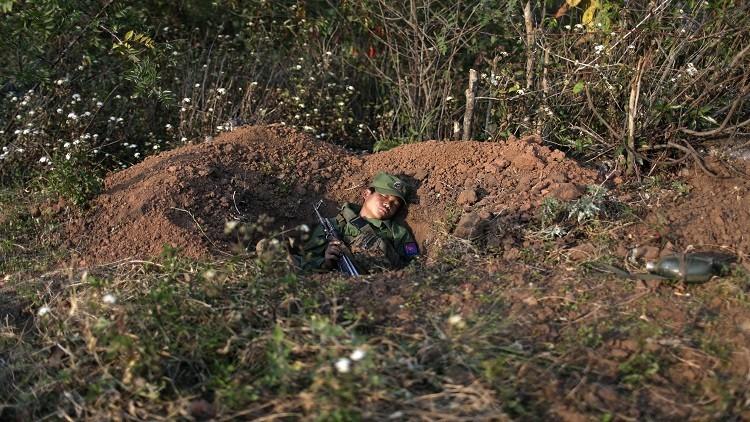 بورما.. 30 قتيلا باشتباكات قرب الحدود الصينية