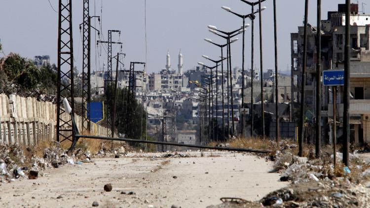 الجيش الحر يوافق على الهدنة في حي الوعر بحمص