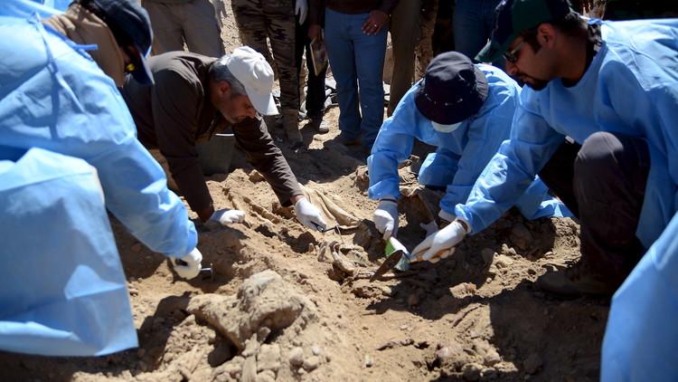 العثور على مقبرة جماعية في بابل وسط العراق
