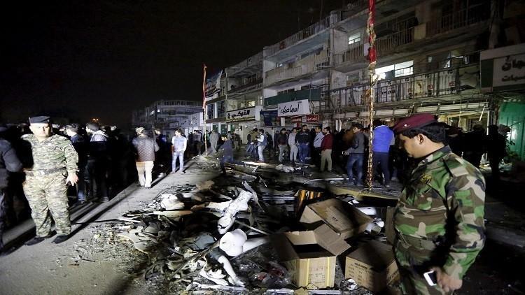 عشرات القتلى والجرحى بتفجيرات انتحارية في تكريت العراقية