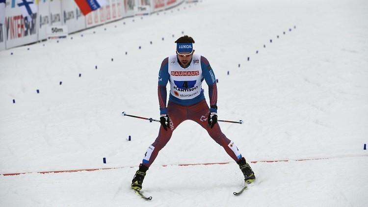 الروسي أوستيوغوف يفوز ببرونزية كأس العالم للتزلج