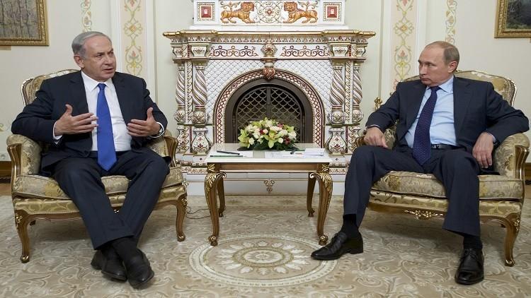 نتنياهو يبحث مع بوتين في موسكو تبعات التسوية السورية