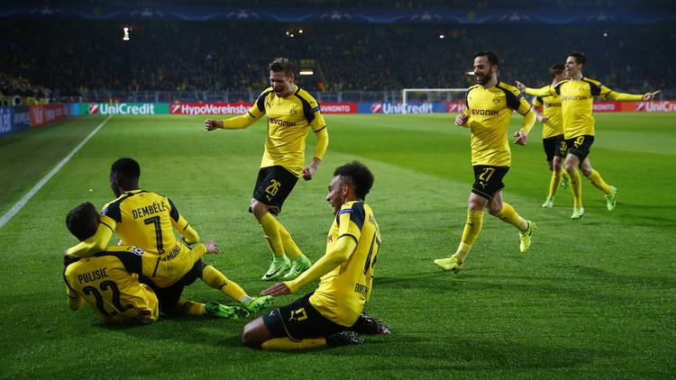 بوروسيا دورتموند يبلغ ربع نهائي دوري الأبطال