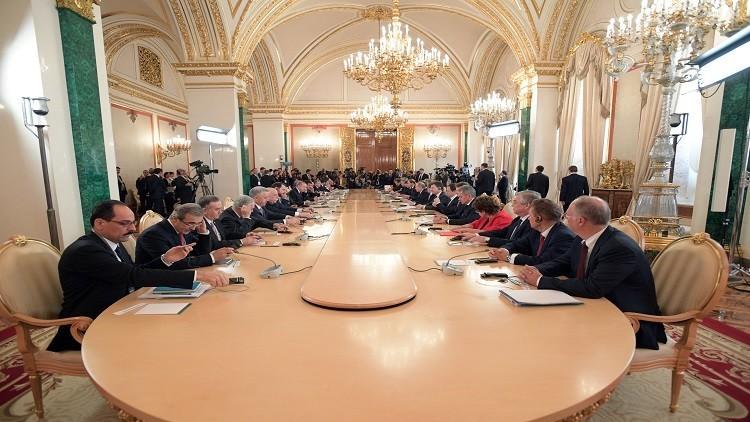 بوتين: مشروع الغاز