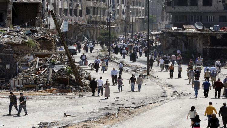 استهداف منزل محافظ حمص بقذائف صاروخية