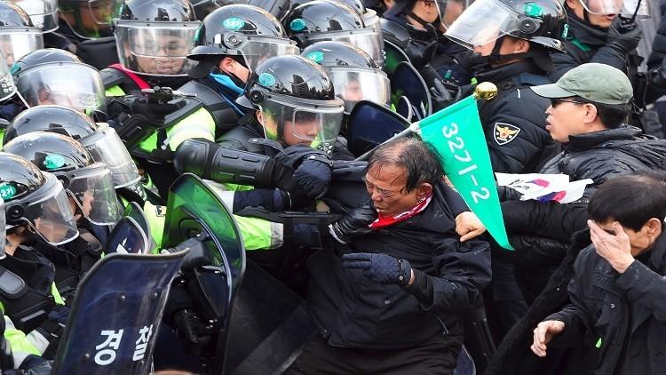 ارتفاع حصيلة احتجاجات سيئول إلى 3 قتلى