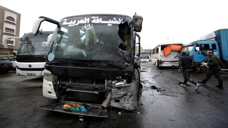 ارتفاع حصيلة تفجيري دمشق إلى 74 قتيلا وأنقرة تصف الهجوم بالإرهابي
