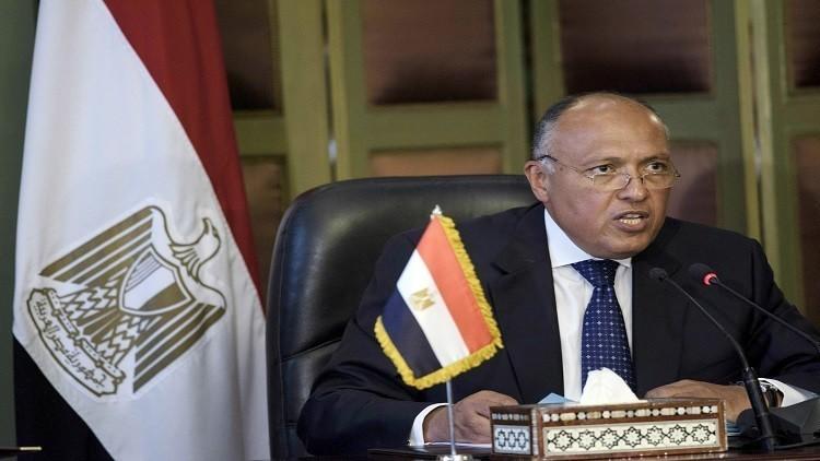 شكري يبحث مع السراج تطورات الوضع الليبي