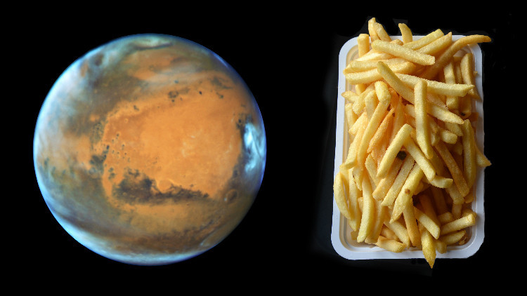 بطاطا من المريخ .. أمر ممكن جدا !