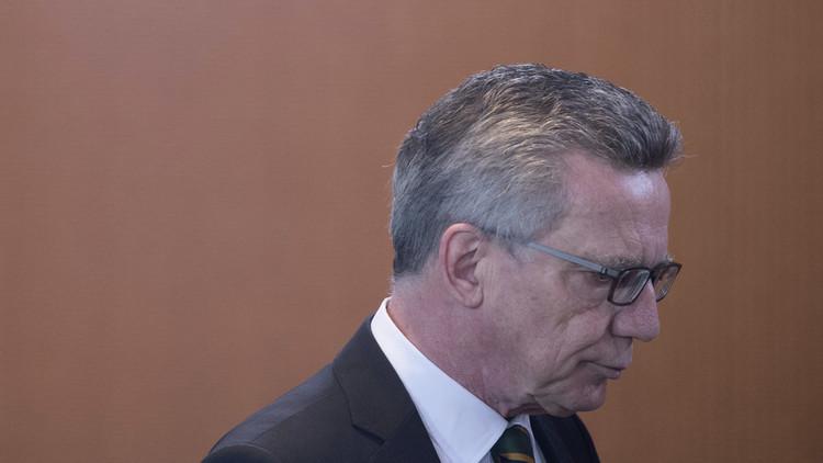 وزير الداخلية الألماني: لا مكان للحملات السياسية التركية في ألمانيا