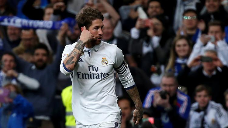 راموس يضع ريال مدريد من جديد في صدارة الليغا