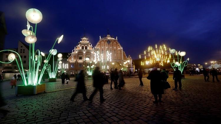 جدل بشأن استخدام اللغة الروسية في لاتفيا