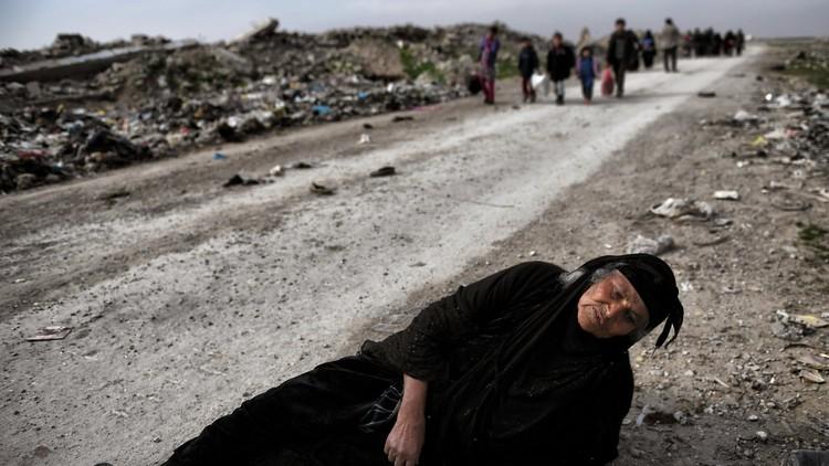 عذابات أهالي الموصل بالصوت والصورة