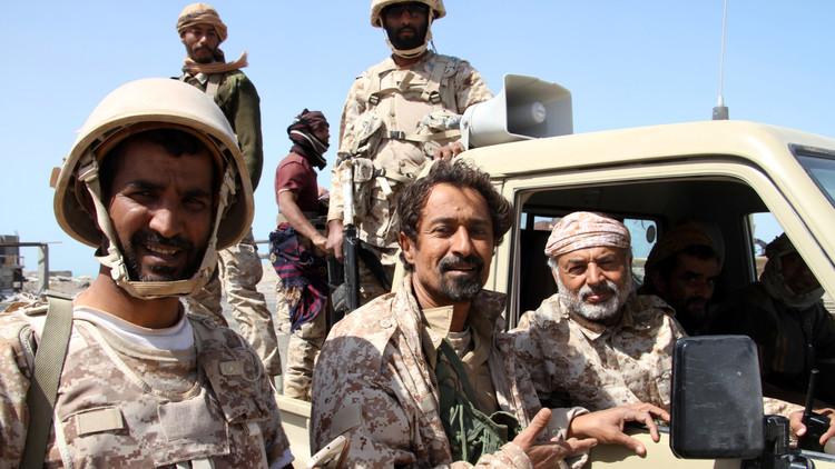 قوات هادي تعلن سيطرتها على مديرية أرحب المطلة على مطار صنعاء