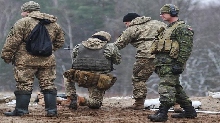 أمريكيون دربوا جنودا أوكرانيين على أعمال التخريب وزودوهم بالمتفجرات