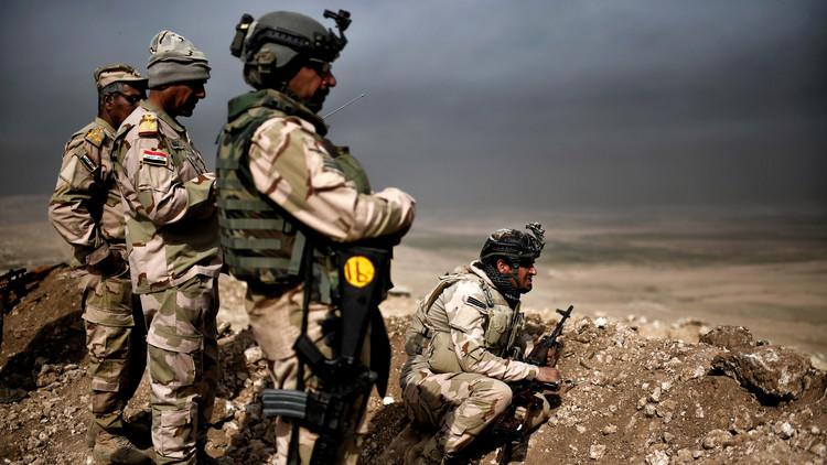 القوات العراقية تحرر حي الموصل الجديدة