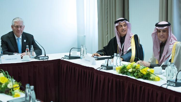 وزير الخارجية الأمريكي يلتقي مع نظرائه السعودي والتونسي واليوناني