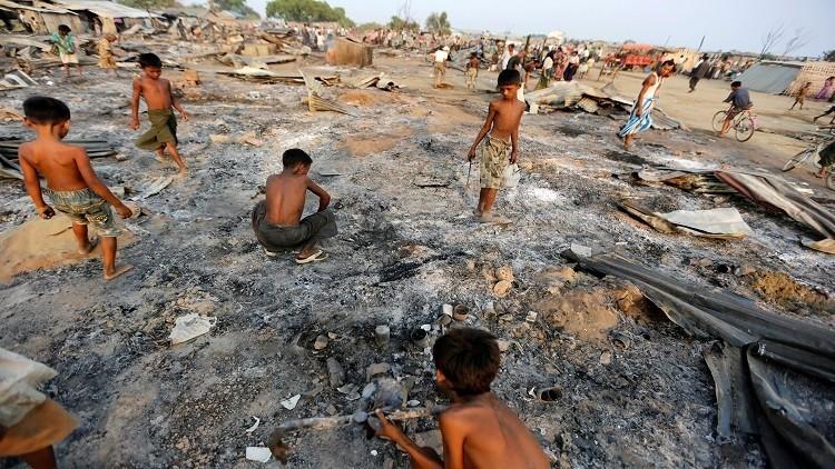الأمم المتحدة تتهم ميانمار بمحاولة تهجير الروهينغا بطرق
