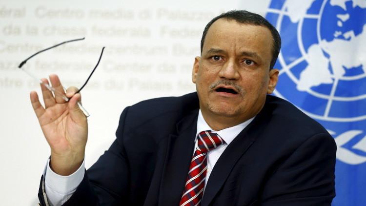 المبعوث الأممي إلى اليمن يعلن رفض الأطراف المتنازعة للحوار
