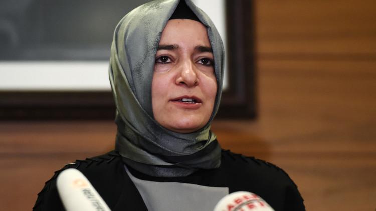 وزيرة الأسرة التركية: لولا أردوغان لما غادرت هولندا إلا جثة!