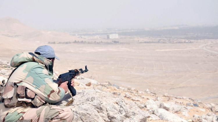 الجيش السوري يسيطر على موقع استراتيجي شرق تدمر