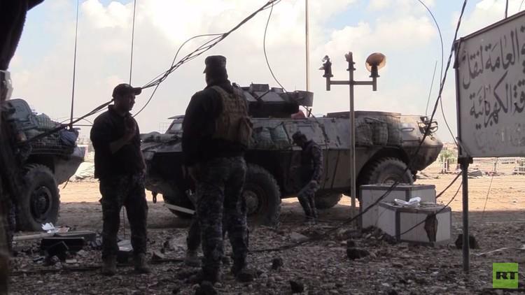 مراسل RT : القوات العراقية لم تخسر مواقع استراتيجية في ناحية بادوش