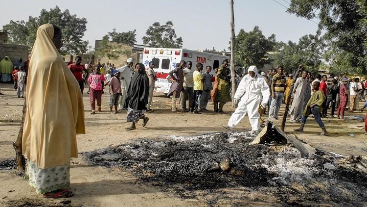 مقتل شخصين جراء هجوم شنته 4 انتحاريات في نيجيريا