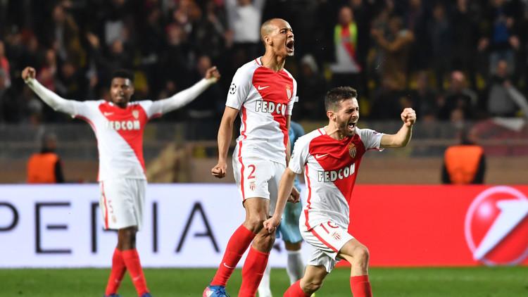 موناكو يقصي مانشستر سيتي ويبلغ ربع نهائي أبطال أوروبا